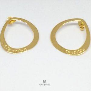 pendientes siempre contigo golden-Gardianjoyas