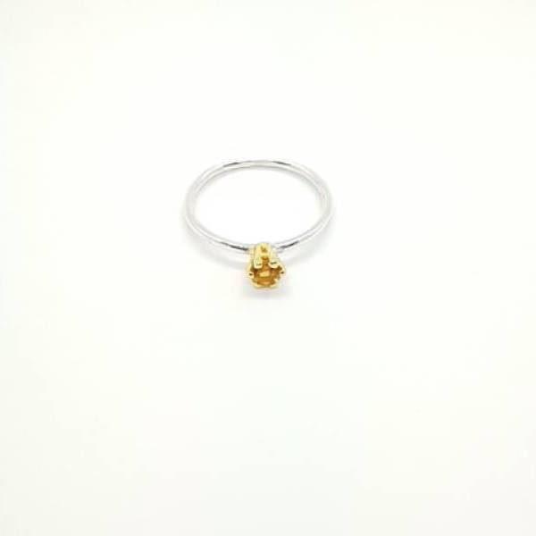 anillo Iris Citrino - Gardianjoyas