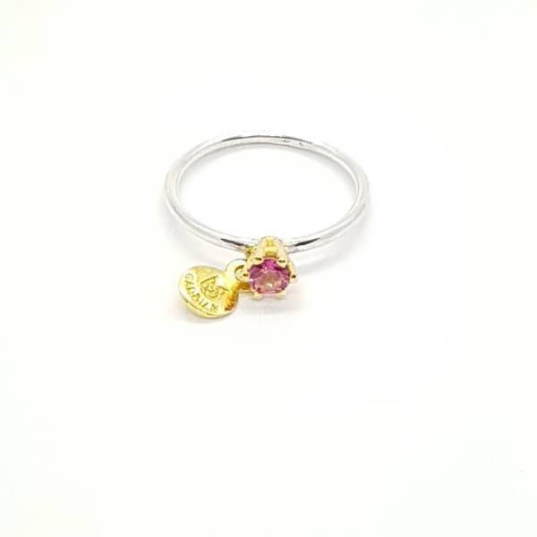 anillo iris topacio rosa-Gardianjoyas
