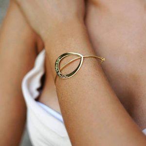 brazalete siempre contigo golden-Gardianjoyas