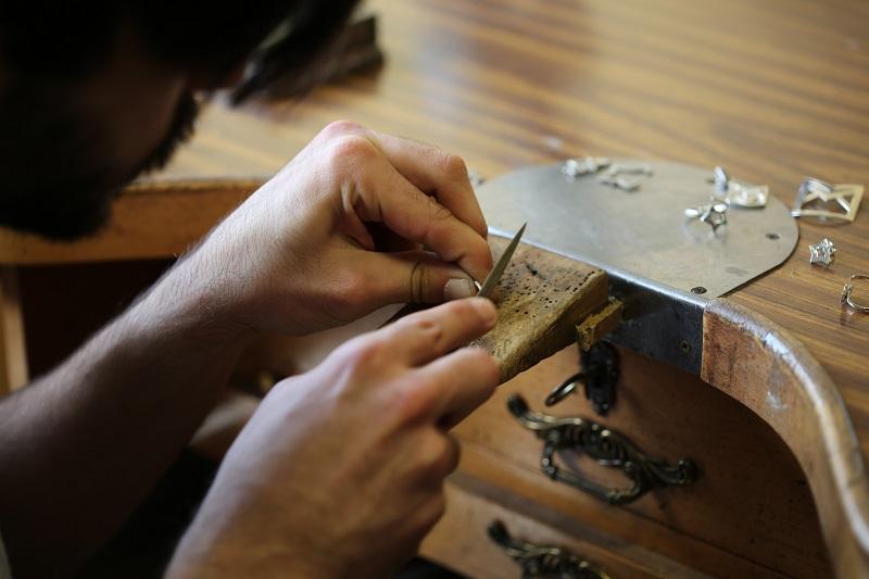 como hacer joyas de autor pulidos