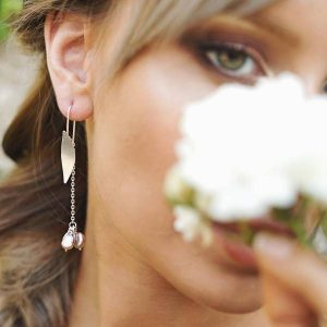 pendientes ela Gardenia- Gardianjoyas