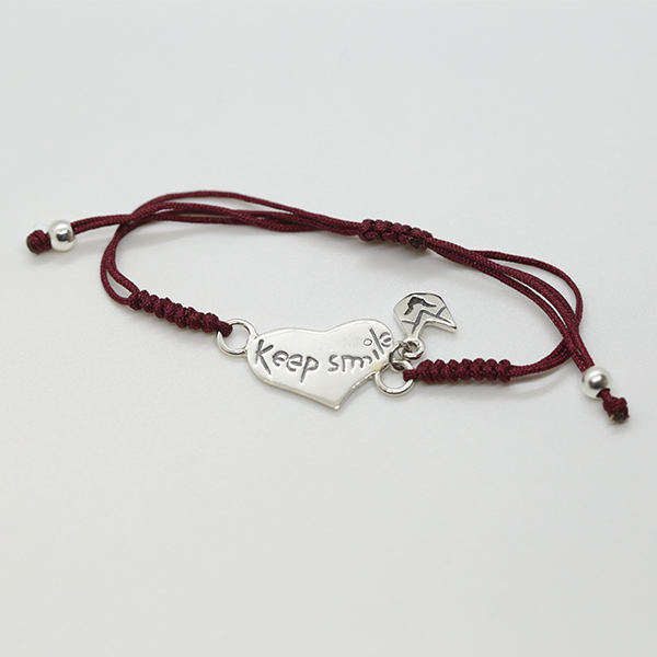 pulsera_keep_smile_granate