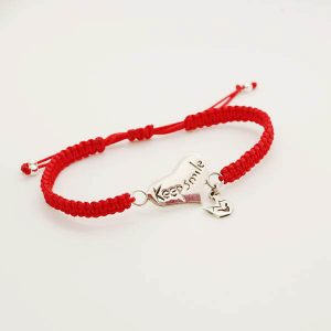 pulsera_keep_smile_rojo