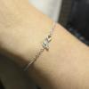 pulsera lazo esmeralda