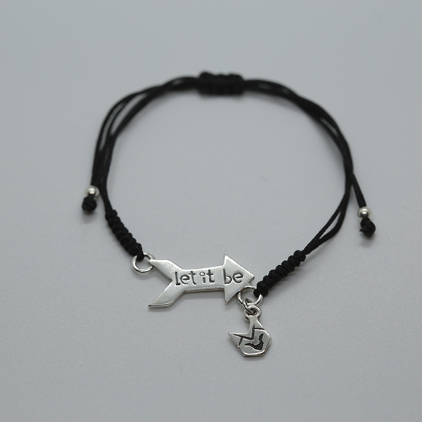 Pulsera Cupido Let it Be